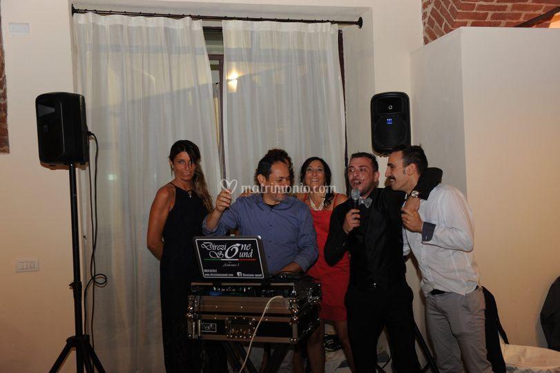Karaoke  con matteo