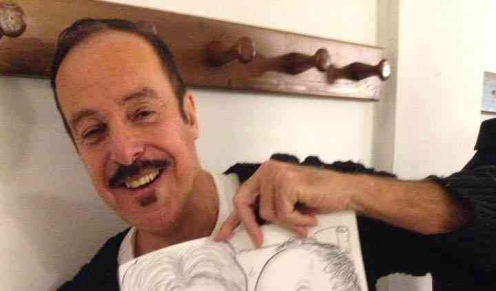 Massimo Lopez e caricatura