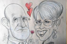 Muriel P. Caricature