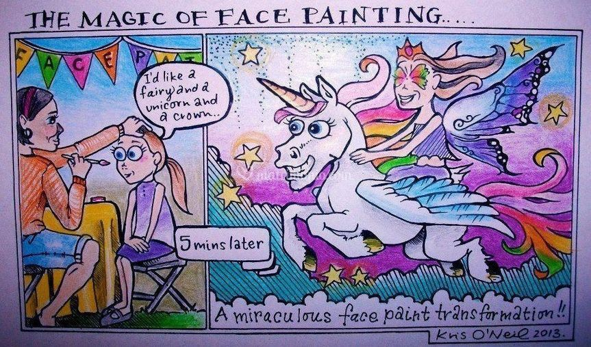 The Magic of Face Painting