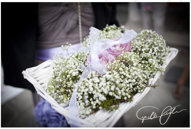 Il portafedi floreale