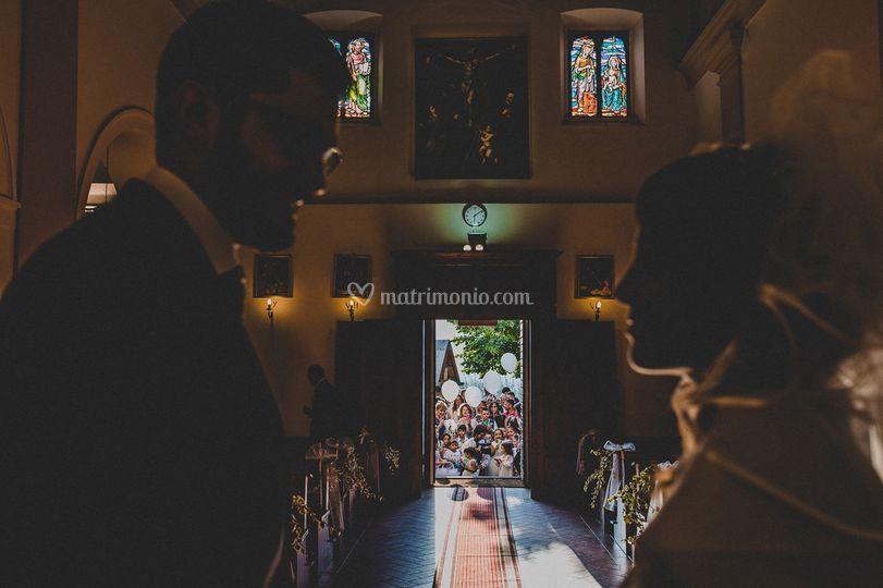 Catholic ceremony arezzo