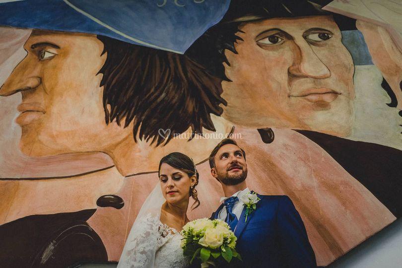 Creative arezzo wedding