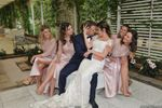Gli sposi e le damigelle