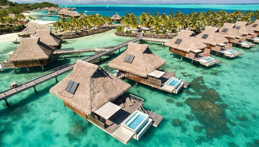 Maldive in Overwater.