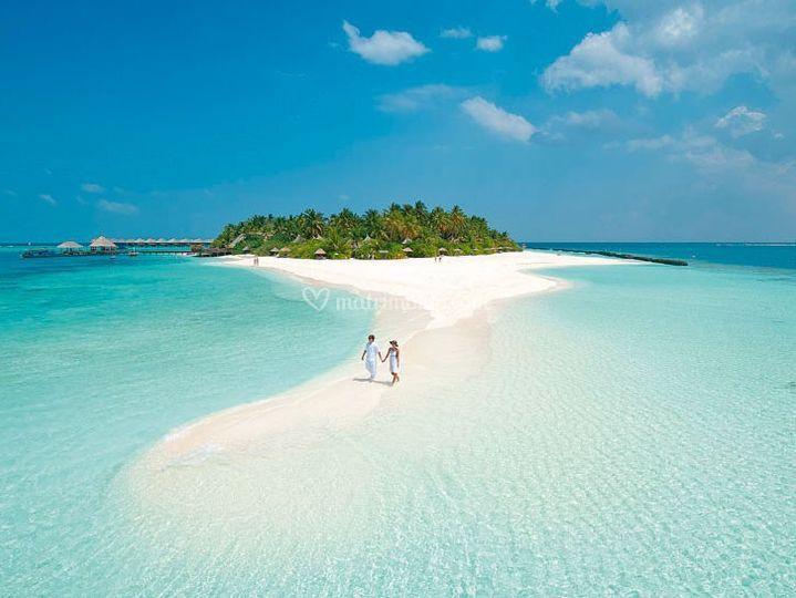 Maldive in totale relax.