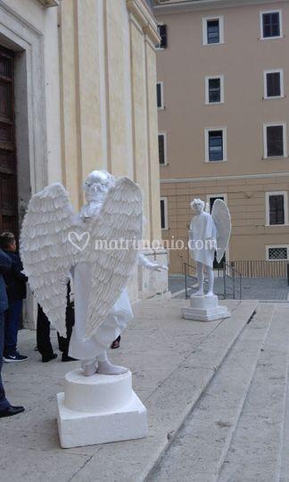 Statue Viventi per Chiesa