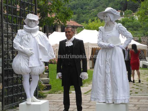 Statue Viventi per Accoglienza