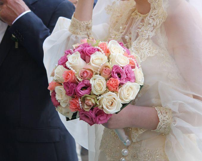 Bouquet rosè.