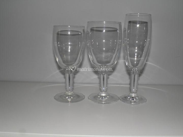 Bicchieri Serie Light
