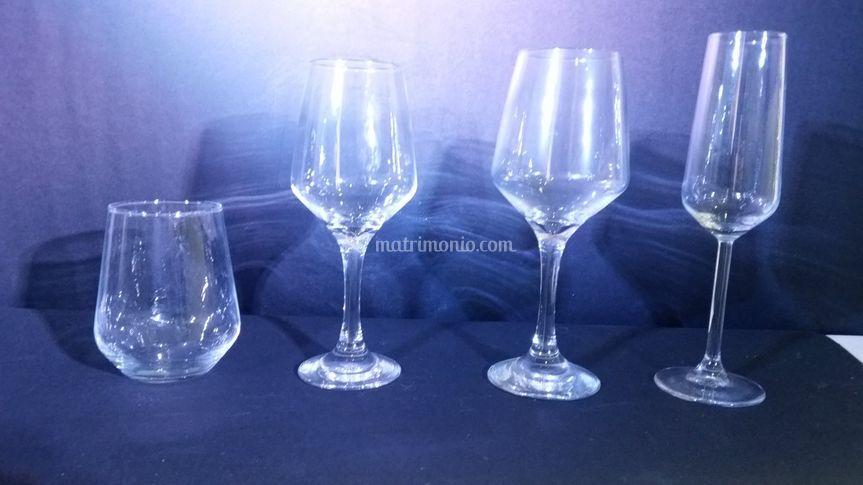 Bicchieri serie Vip