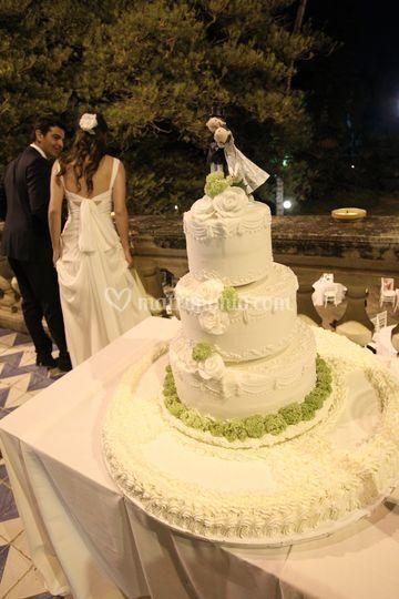 Pupi Inglese - Wedding cake