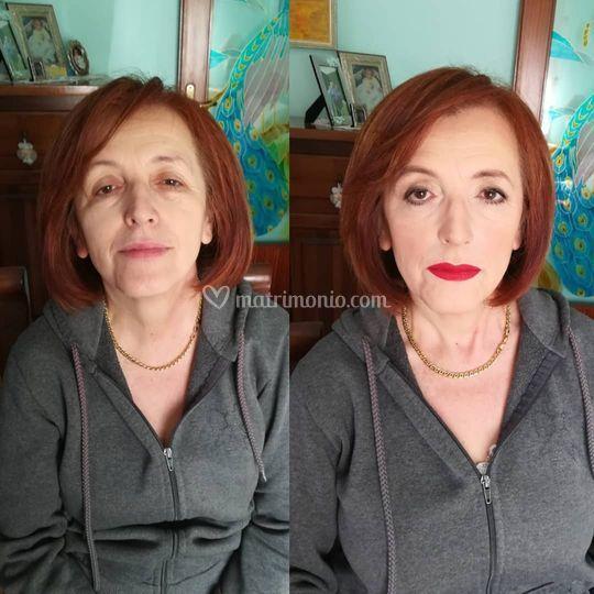 Prima e dopo correttivo