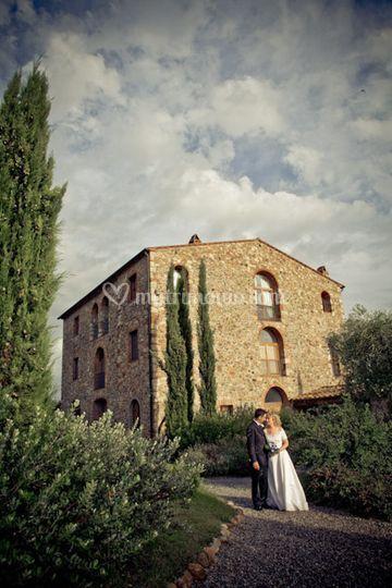 Massa marittima convento monte pozzali foto matrimonio