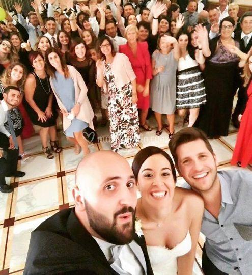 Selfie sposi!M