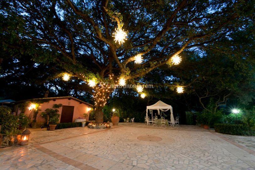 Le querce incantate for Giardini foto ville