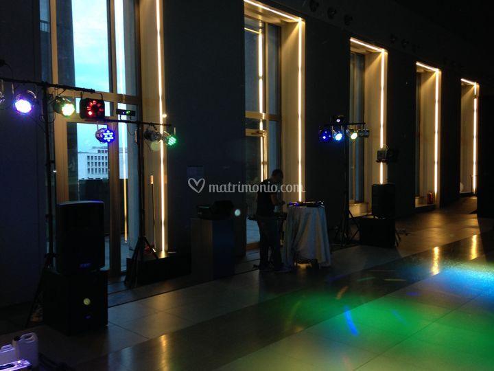 Illuminazione interni di roma eventi musicali foto
