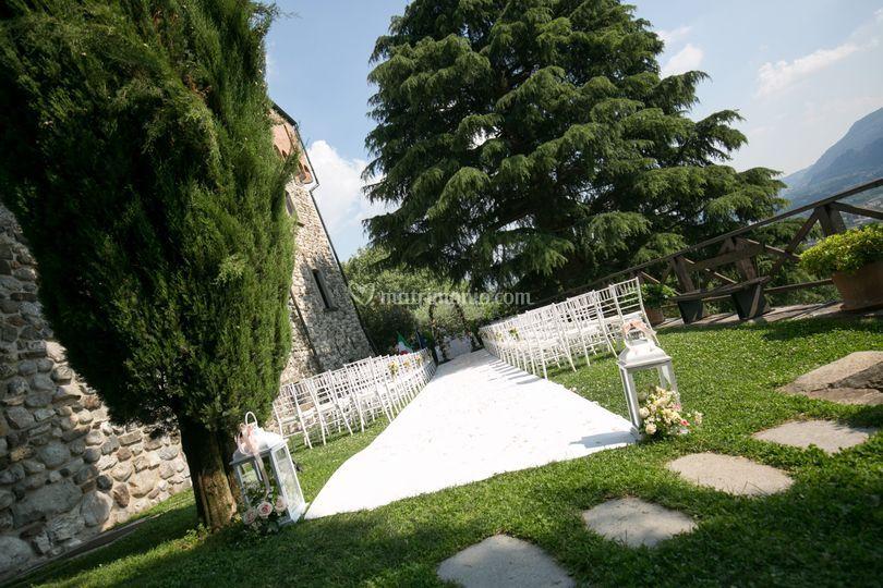 Cerimonia civile al Castello
