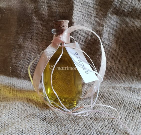 Idea segnaposto olio EVO
