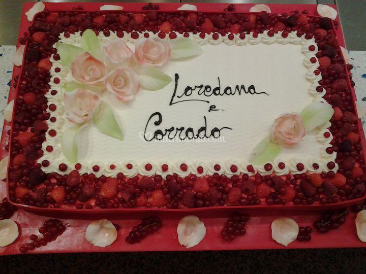 Torta nuziale di Pasticceria Liviero | Foto 6