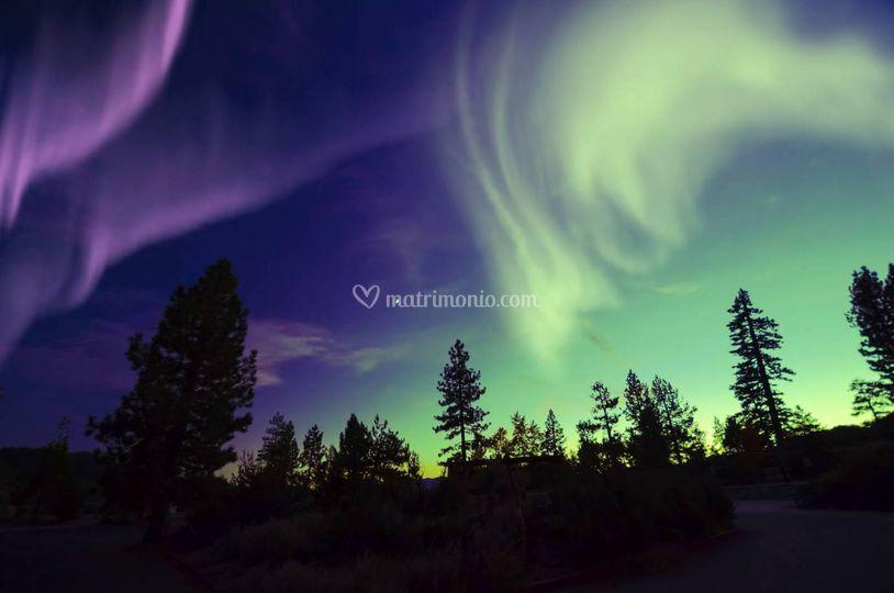 Aurora Boreale a Nord