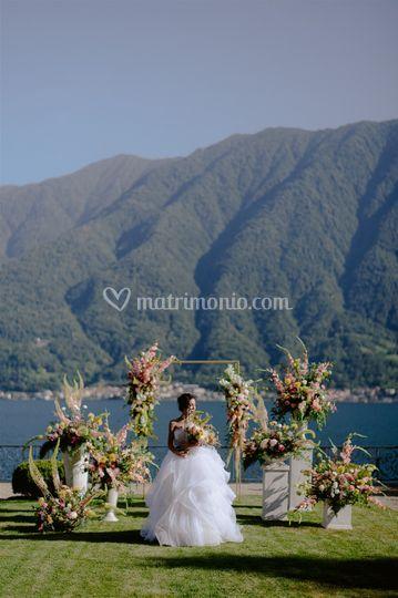 Cerimonia sul lago