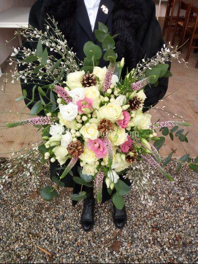 Bouquet sposa d'inverno