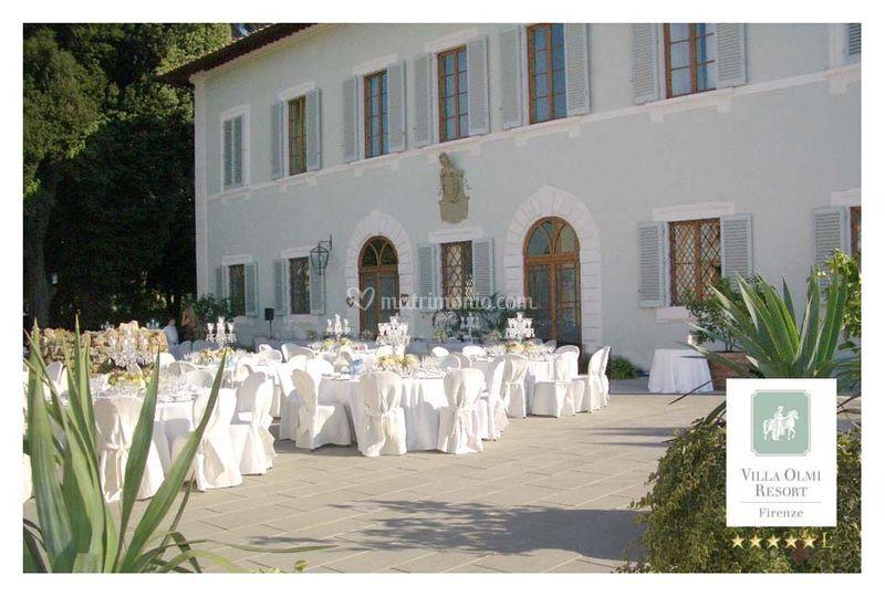 Piazzale villa di villa olmi firenze foto 2 for Bagno a ripoli matrimonio