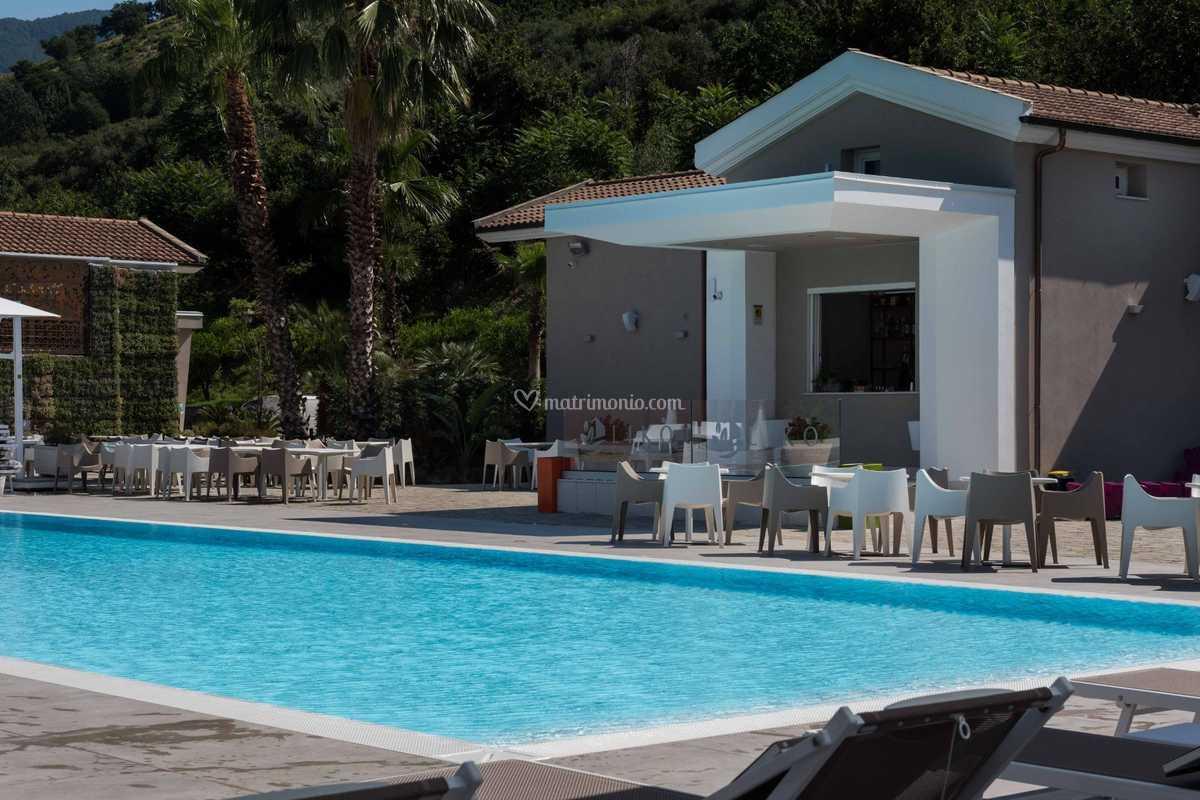 Piscine A Nocera Inferiore bordo piscina di likò resort   foto 1
