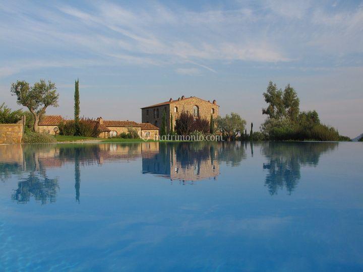 La piscina di L'Antico Convento