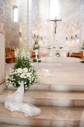 Allestimento Cattedrale Trani