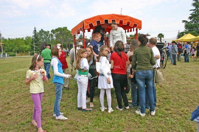 Festa paesana a Murelle (Pd)