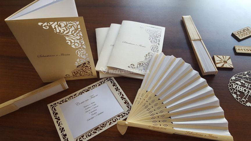 LaserCut wedding set