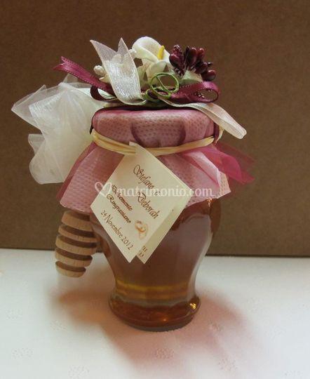 Anfora miele bomboniera Bordò