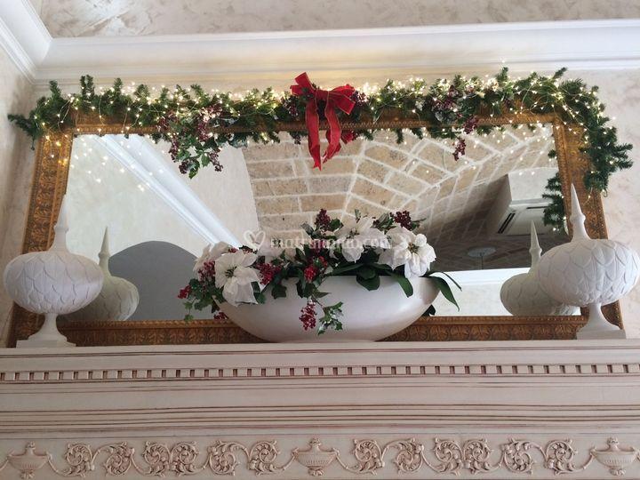 Natale nella nuova sala oro