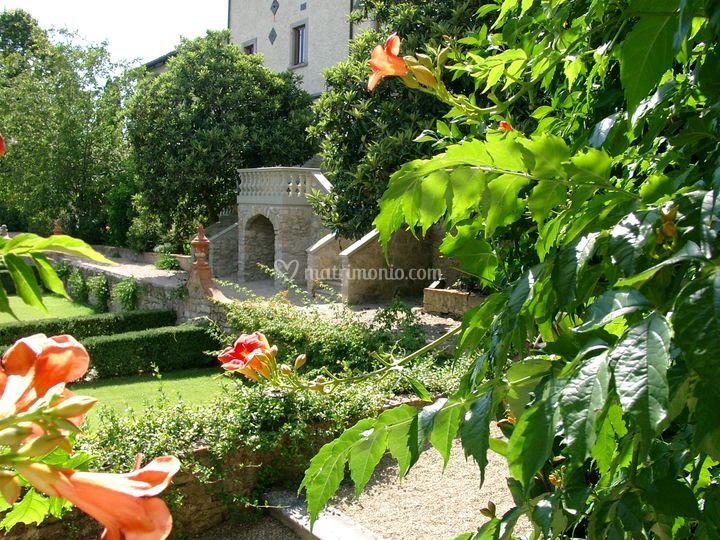 Il giardino in estate