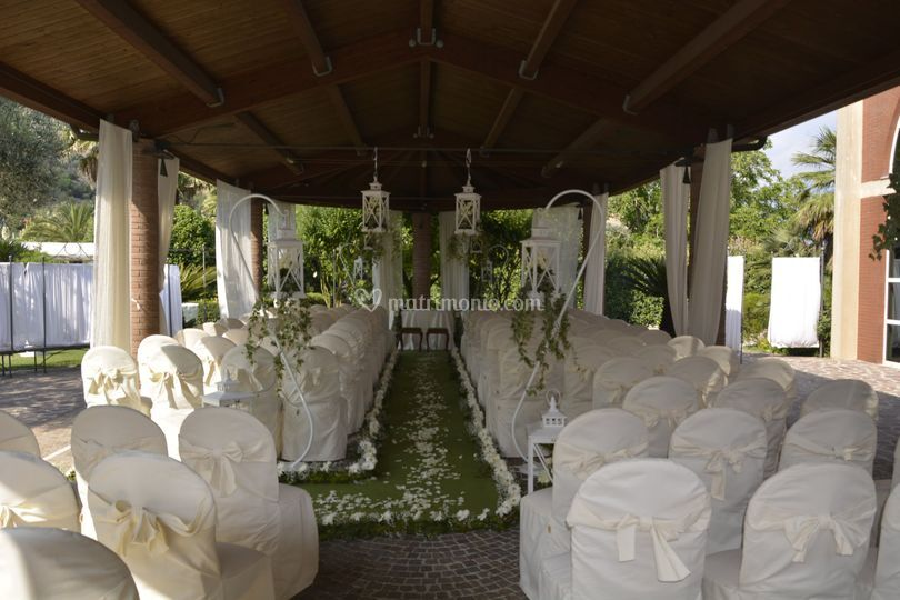 Gazebo matrimonio civile