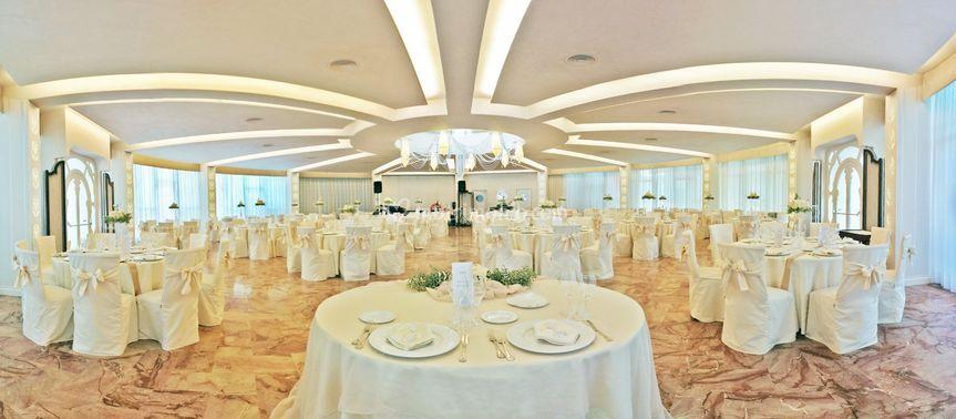 Sala Sophora vista sposi