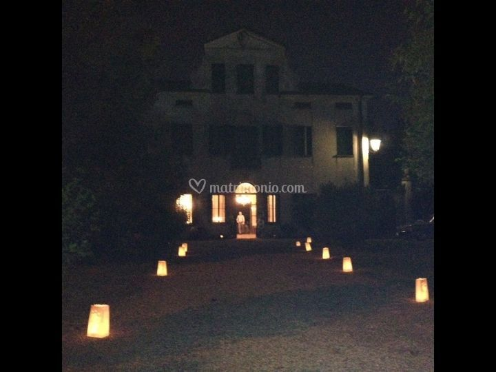 Villa Colpi la sera