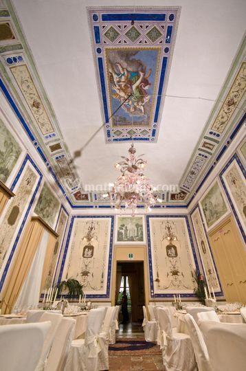 Affreschi Salone neoclassico
