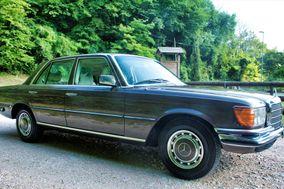 Old Mercedes Wedding Car
