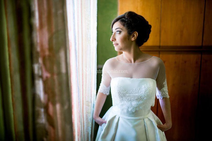 Vestito sposa con tasche