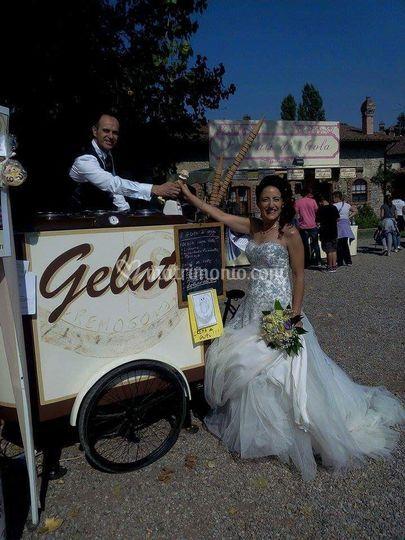 Cremobici a matrimonio
