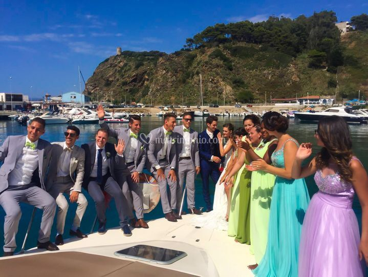 Matrimonio In Yacht : Capo sperone resort