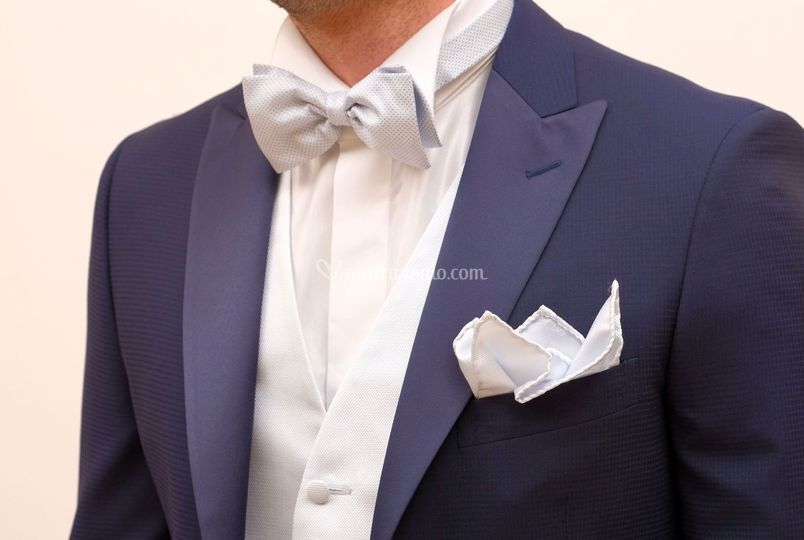 Revere lancia raso blu royal