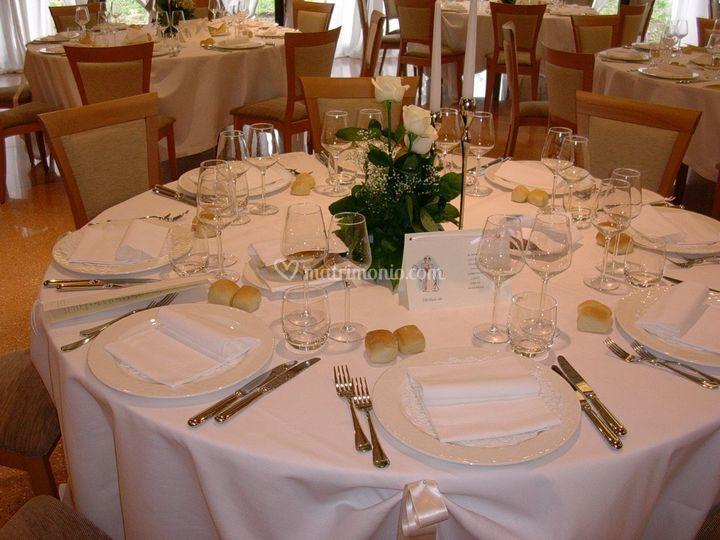 Tavolo in bianco