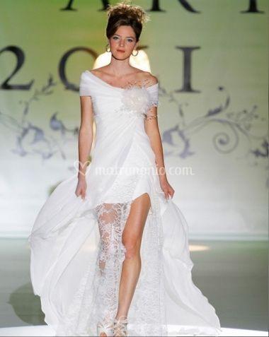 084293734b1f Pizzi e tulle in modelli più avvitati e tubini si ritrovano fra le versioni  di questo tipo di abito che andrà per la maggiore nel 2012.