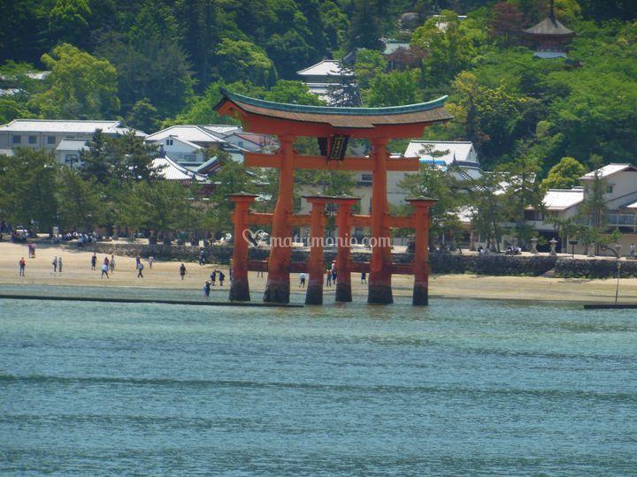 Miyajima - Torii nel mare