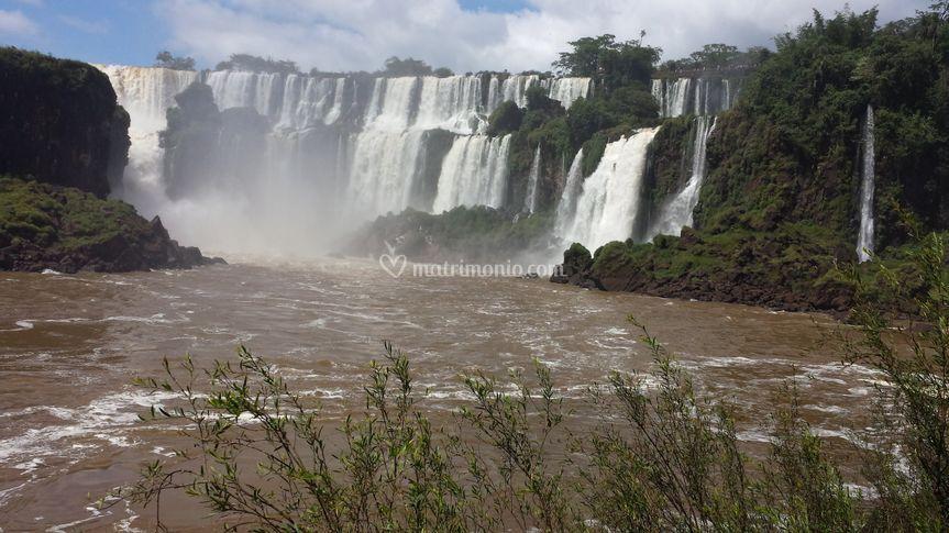 Cascate Iguassu - lato Argentino