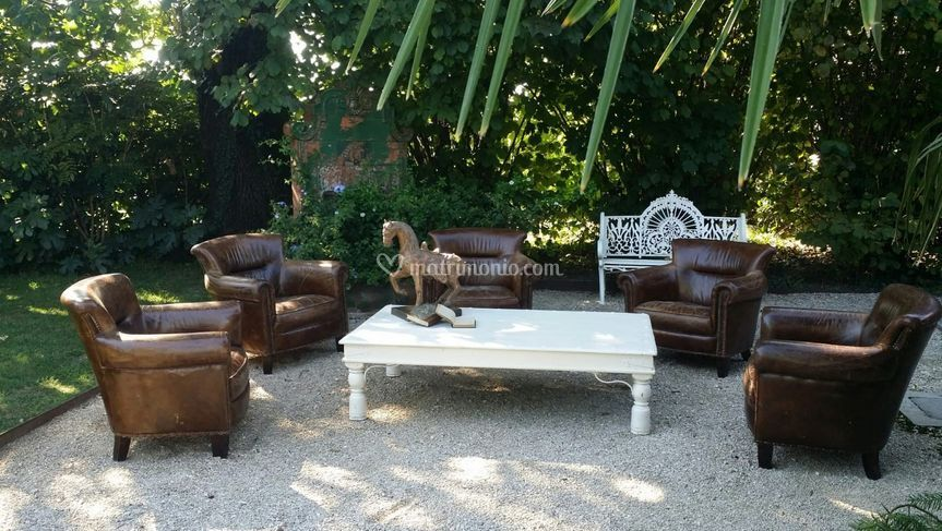 Furniture in the garden
